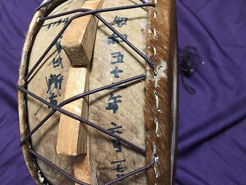 奄美島太鼓 チヂン