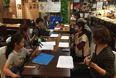 奄美シマ唄三線教室