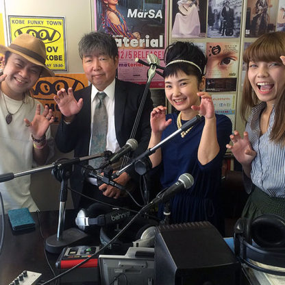 島唄プロジェクトの会 ラジオ収録