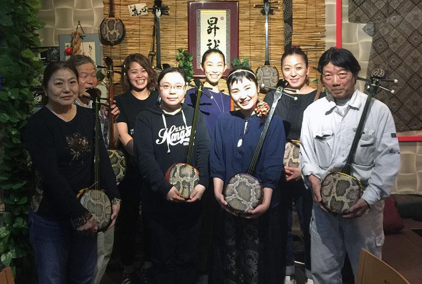 台湾の奄美島唄唄者